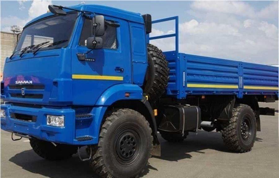 Грузовик КАМАЗ 43502 14 (S4)