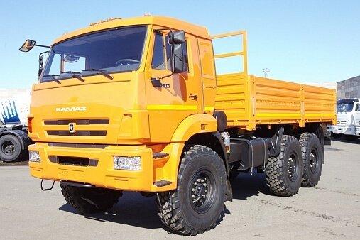 Грузовик КАМАЗ 5350 42