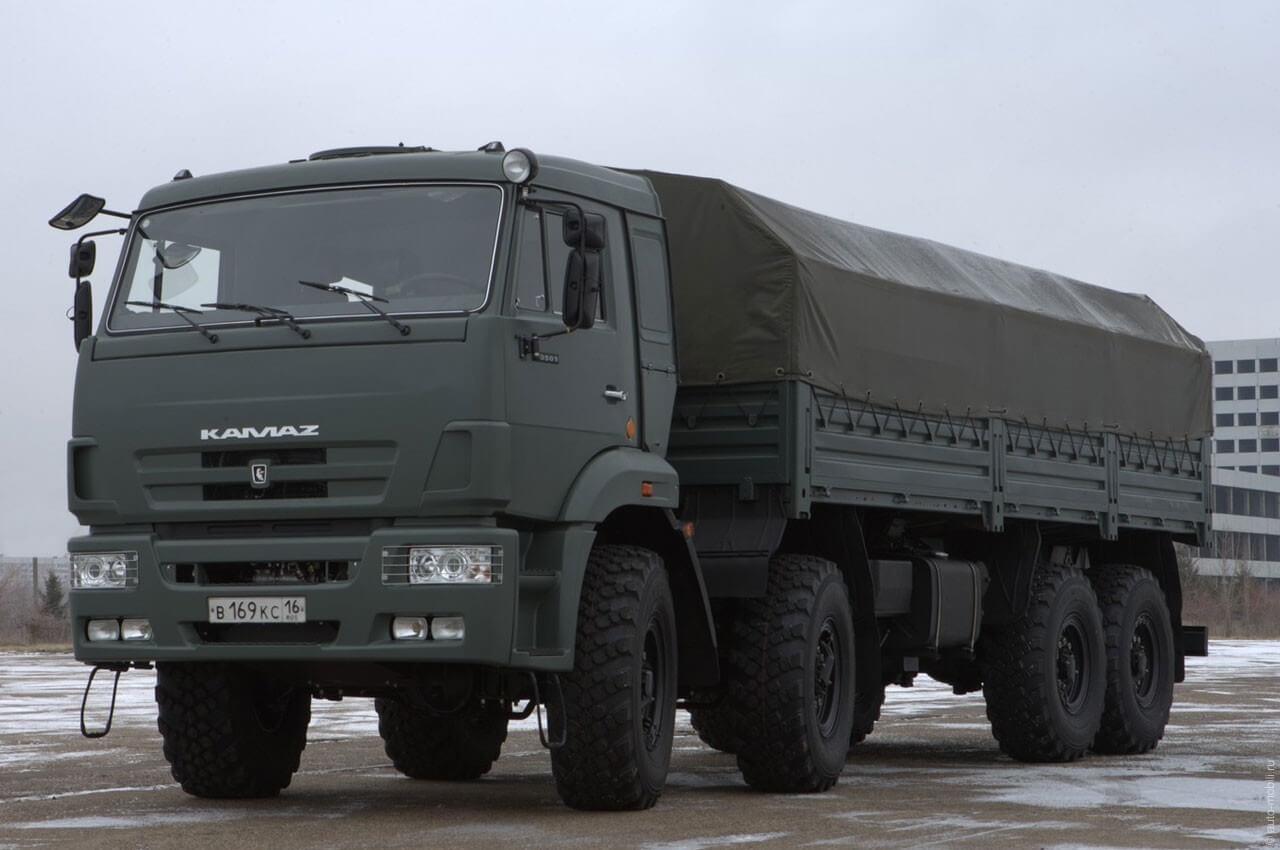 Грузовик КАМАЗ 63501 40