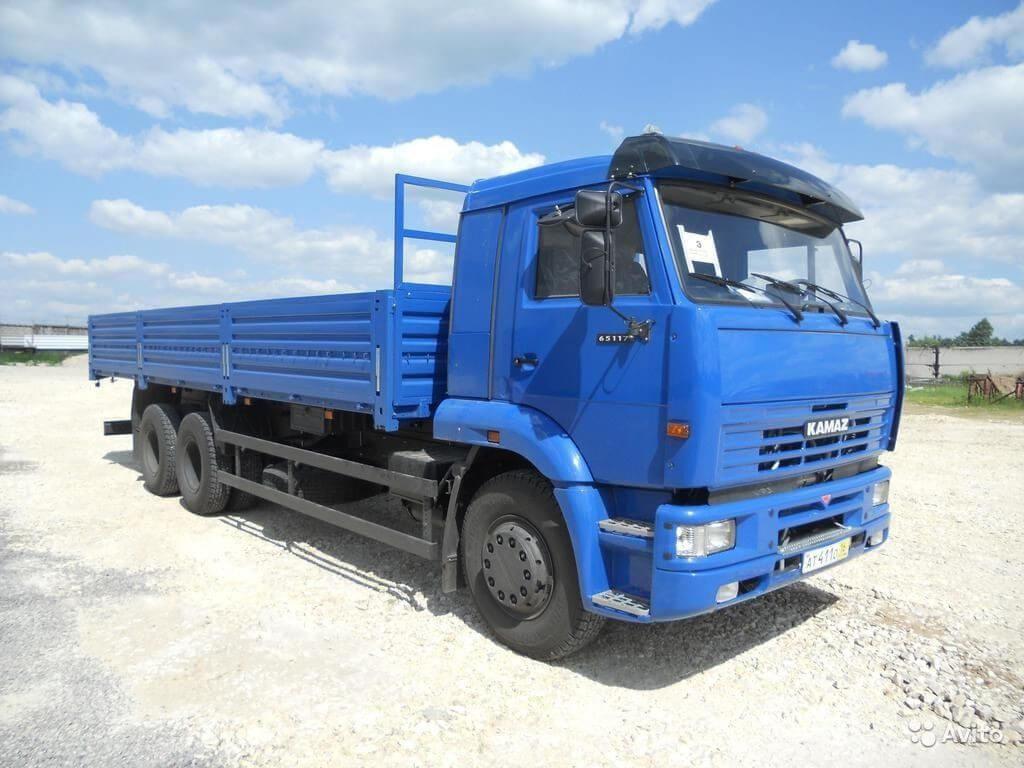 Грузовик КАМАЗ 65117 23 (А4)