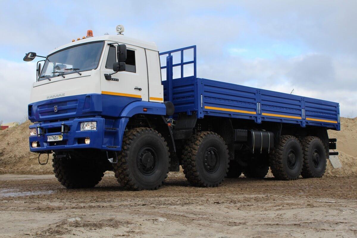 Грузовик КАМАЗ 6560 43