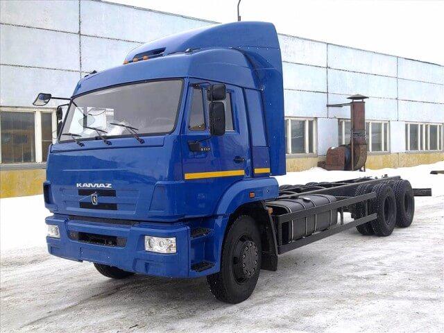 Шасси КАМАЗ 6360 73