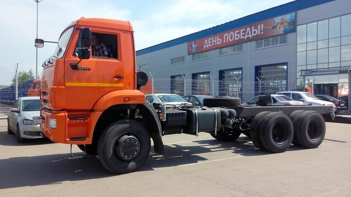 Шасси КАМАЗ 65111 42