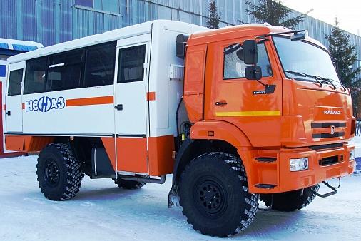Вахтовый автобус НЕФАЗ 42111М