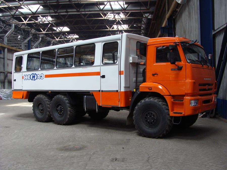 Вахтовый автобус НЕФАЗ 4208 24