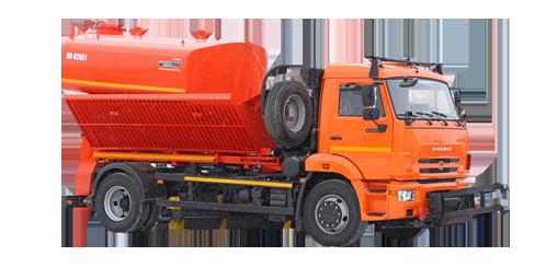 Комбинированная дорожная машина (КДМ) КО 829А1