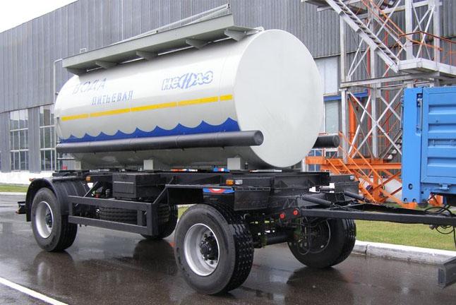 Прицеп-цистерна НЕФАЗ 8602-04 (для перевозки воды)
