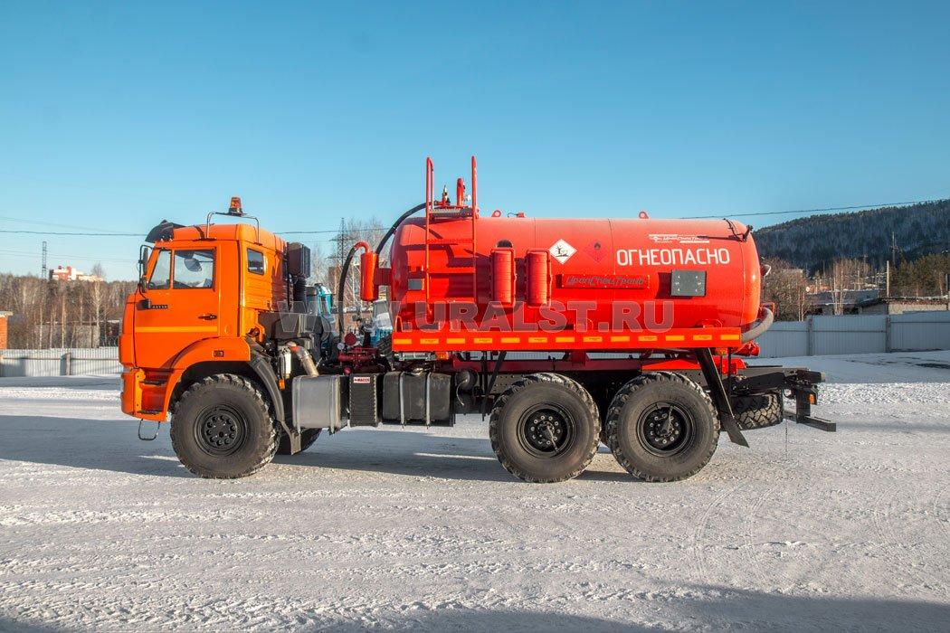 Автоцистерна нефтепромысловая АКН-10 КО УСТ-5453 КАМАЗ 43118